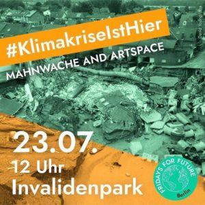 23.07.2021 Klimastreik Sharepic